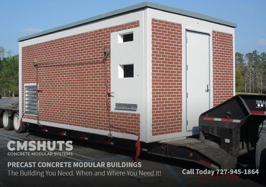Precast Concrete Modular Utility Building Systems